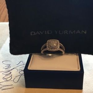 David Yurman Petit Albion Ring Size 7